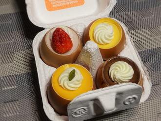 東京土産 うふプリン、卵の殻入りスイーツ 品川駅ナカなどで