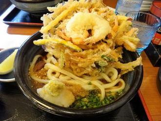 ジャンボかき揚げにコシのあるモチモチ麺!香川「もり家」讃岐うどんの有名店