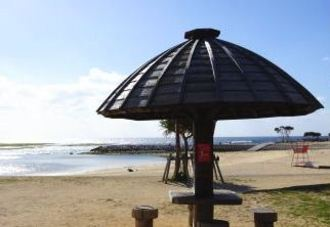 沖縄 北谷公園とサンセットビーチ、街からスグ行ける癒しの海辺