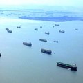 シンガポールの海は大型船でいっぱい!タンカーが沢山停泊する不思議な風景
