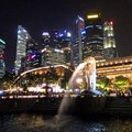 シンガポール夜景スポット!マーライオン公園からの眺めが美しい