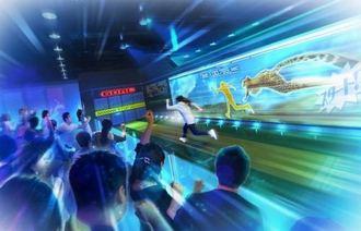 大阪にバラエティ番組のようなスポーツが楽しめる施設「VR PARK」2018年春に