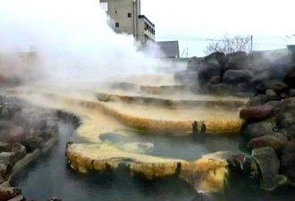 日本一長い105m足湯!小浜温泉 ほっとふっと、無料でペット足湯まで!