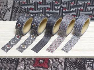 大島紬の着物柄がステキ!奄美大島のご当地マスキングテープ「紬Classic」