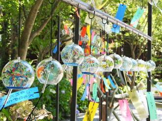 福岡の風鈴寺・如意輪寺で涼やかに「風鈴まつり」風鈴に願い込め