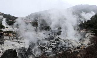 長崎で雲仙地獄めぐり、モクモク豪快な湯けむりに包まれる人気観光スポット!