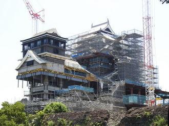 がんばれ熊本城!2019春の外観完成に向けて進む、現在の復興状況