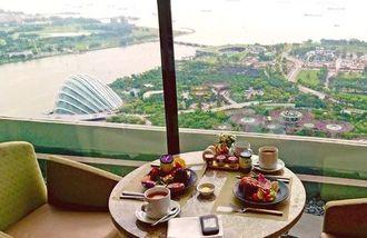 マリーナベイサンズ CLUB55で絶景朝食を!朝から景色にうっとり&品揃えにワクワク