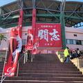 宮崎・天福球場、広島カープのキャンプ地に日南グルメも集う