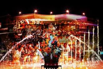 キャナルシティ博多で「飾り山笠」&噴水と光の「山笠ショー」上演