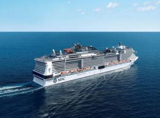 船内でシルクドソレイユも!MSCベリッジマが初寄港、日本来港最大級の豪華客船