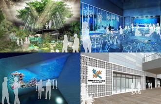 DMMかりゆし水族館、沖縄にオープン!大型商業施設「イーアス沖縄豊崎」内に