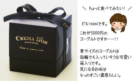 クレマドール、世界一高級な5000円のヨーグルト 通販で!