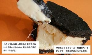 まっ黒チーズケーキ 通販が人気!