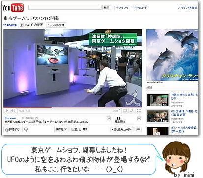 東京ゲームショウ 2010!