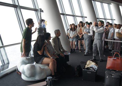 東京スカイツリー 無料で記念撮影も