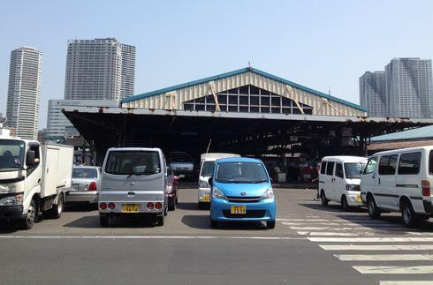 東京・築地市場にやってきました!