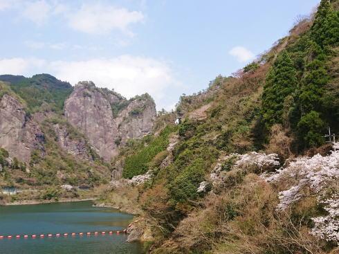 福岡県八女市 日向神峡 写真 ハート岩 写真2