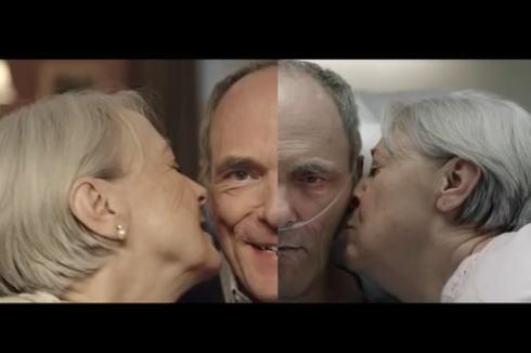 人生最後の10年をどう過ごすか?健康を真剣に考えさせられるCM動画