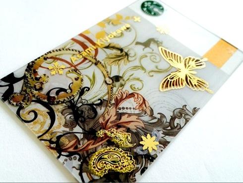 清川あさみデザインスタバカード、カード初のAR連動機能つき