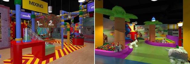 レゴランド・ディスカバリーセンター大阪、LEGOのプールも