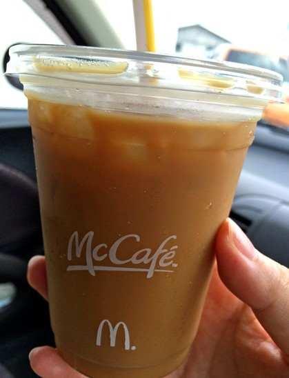 マックのパズルで、コーヒーをゲット