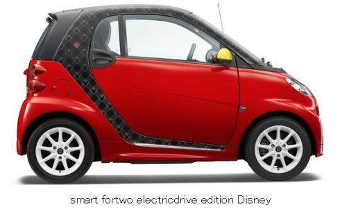 ベンツ ミッキーの電気自動車 画像1