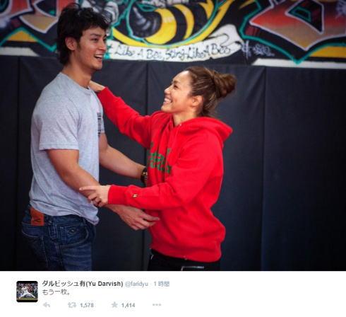 レスリング山本聖子とダルビッシュが交際で写真公開