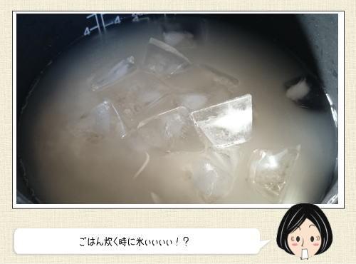 氷で米が旨くなる!? 話題の炊き方をやってみた
