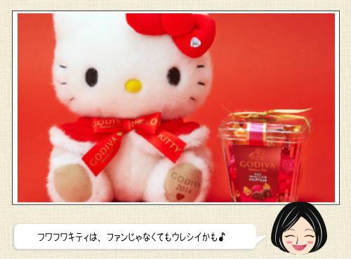 キティちゃん×ゴディバのクリスマス商品、サンリオ限定発売