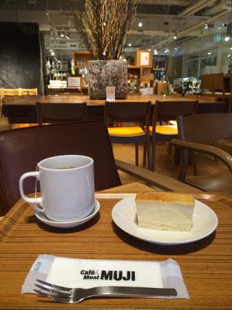 CafeMUJI チーズケーキ