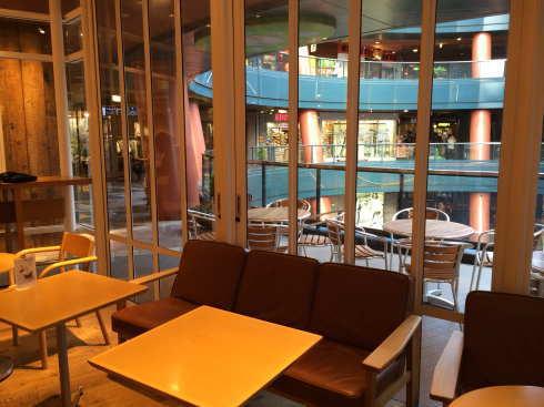 CafeMUJI キャナルシティ博多店 店内の様子2