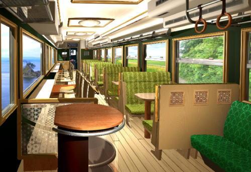 北陸デスティネーションキャンペーンで、城端線・氷見線にコンセプト列車