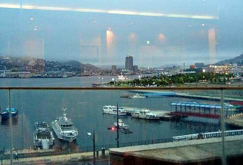 ちゃんぽん発祥の店 四海楼 展望レストランからの景色