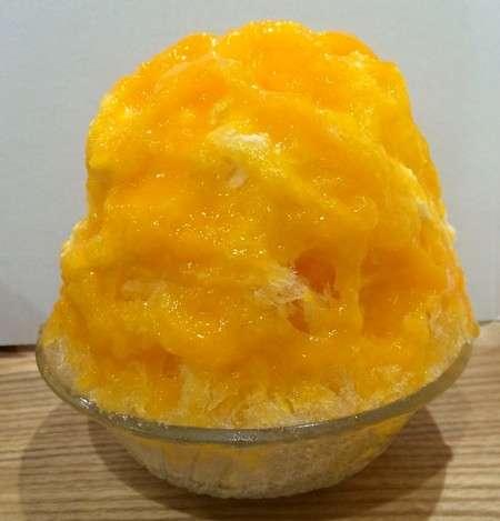 かき氷工房 雪菓の、みかんヨーグルト