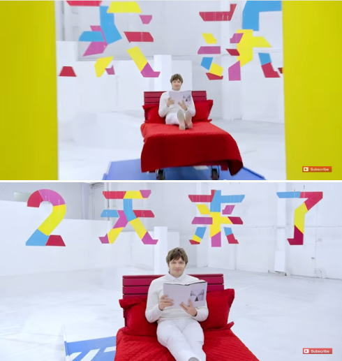 OK Go CM 画像