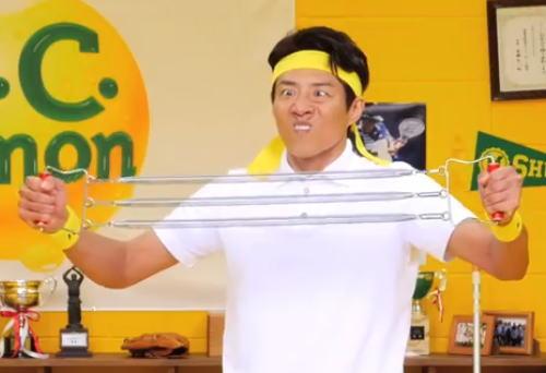 松岡修造のCCレモン応援歌動画がちょっとウザい