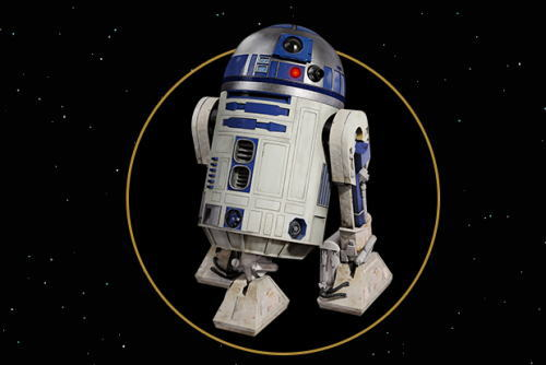 R2-D2 スターウォーズ×ANA 特別塗装機のデザインに