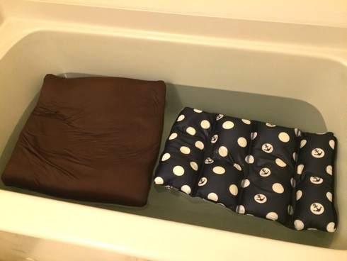 ビーズクッションを手洗いで洗濯