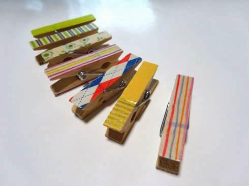 まスキングテープ活用法 クリップ2