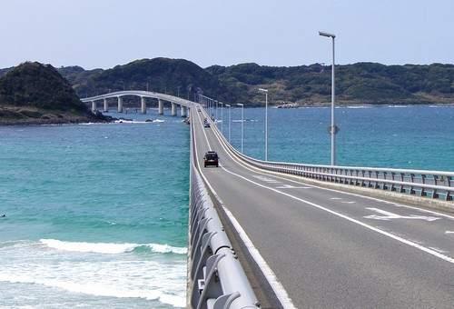 角島大橋、死ぬまでに行きたい世界の絶景