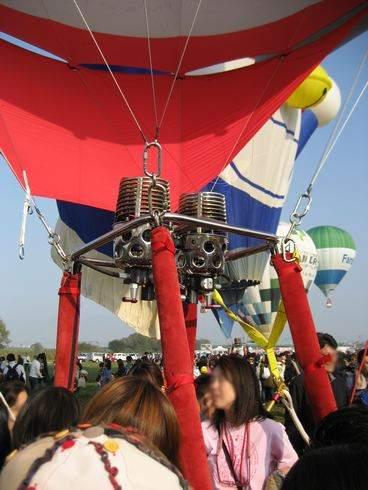 バルーンファンタジア、気球に乗ってみることも