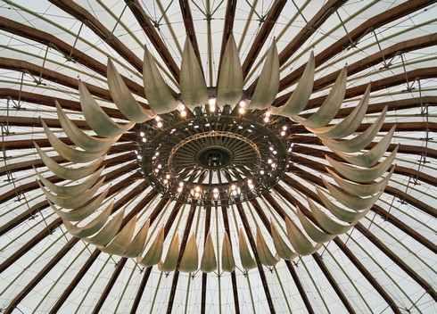 出雲ドームの天井