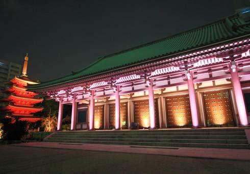 博多ライトアップウォーク、東長寺