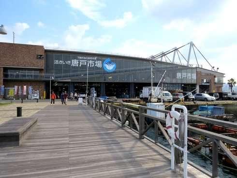 下関 唐戸市場で、お寿司天国