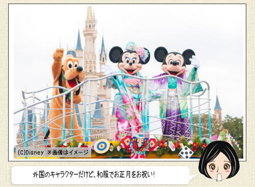 東京ディズニーランド/シーのお正月!申年にちなんだキャラも登場