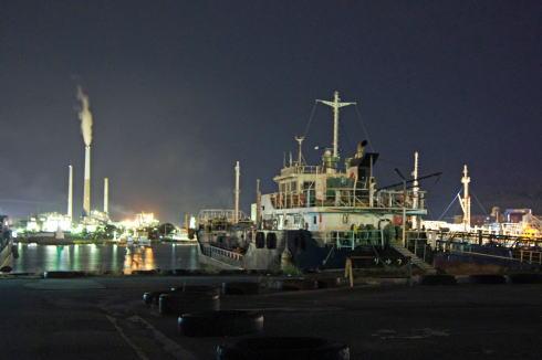 周南コンビナート 工場夜景 画像12