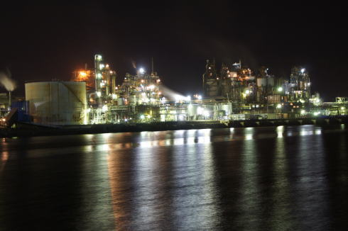 周南コンビナート 工場夜景 画像2