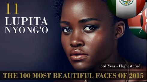 2015世界で最も美しい顔100 11位