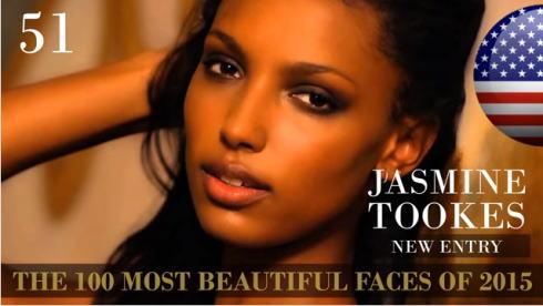 2015世界で最も美しい顔100 51位